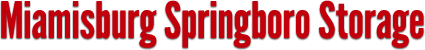 Miamisburg Springboro Storage - Website Logo