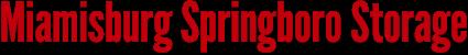 Miamisburg Springboro Storage - Website Logo