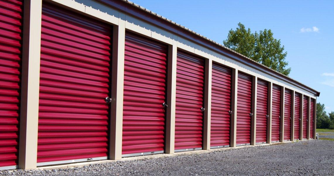 Image of outside of storage unit